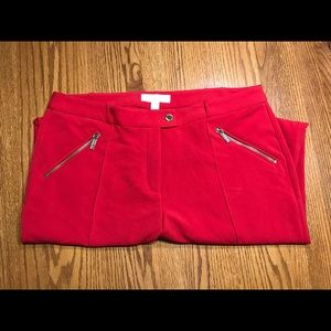 Michael Kors pants 12 red